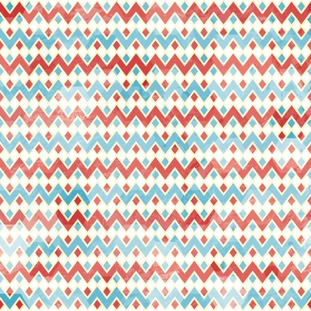 zag: zigzag seamless pattern with grunge effect