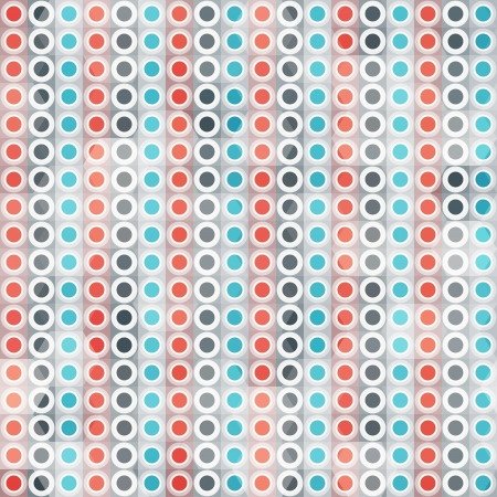 abstract circle lines seamless pattern Stock Vector - 19280031