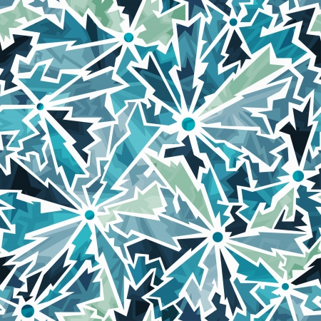 cracked earth: cold color cracks seamless pattern