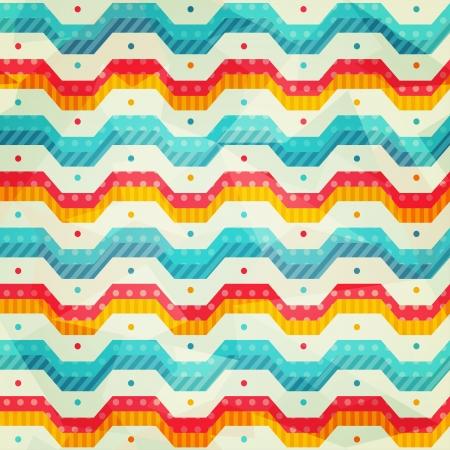 zag: colored zigzag line seamless pattern