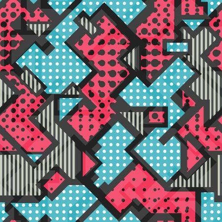 pink geometric seamless pattern Stock Vector - 21505118