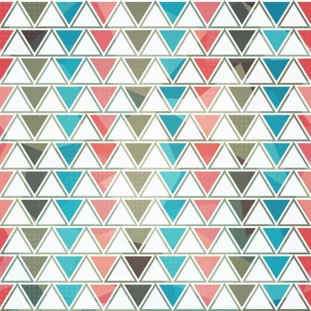 pop art herringbone pattern: triangle seamless pattern