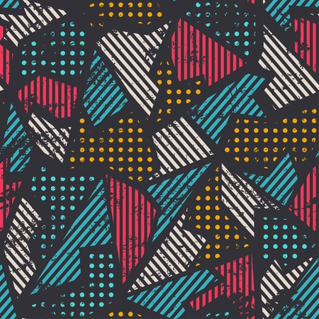 urban seamless pattern