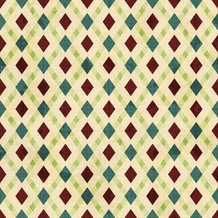 vintage rhombuses seamless pattern Ilustrace