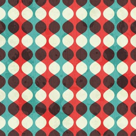 グランジ効果とヴィンテージのシームレスなパターン