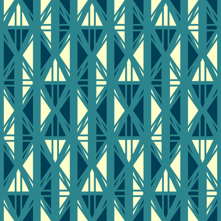 ancient blue seamless pattern Vector