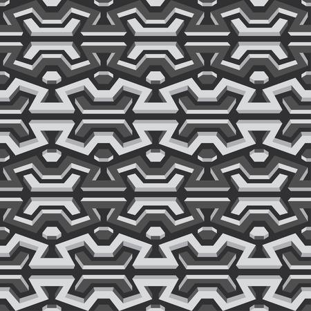 metallic seamless pattern Vector