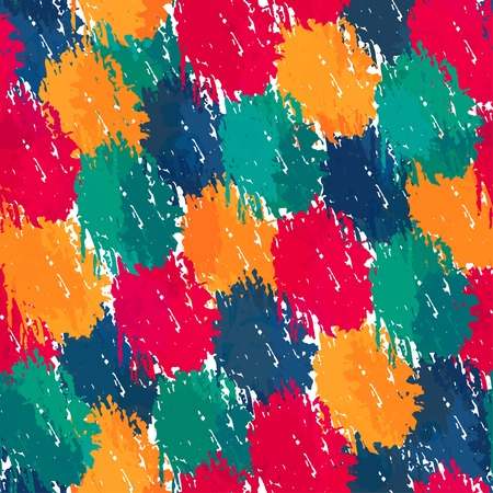 painting style seamless pattern Vector
