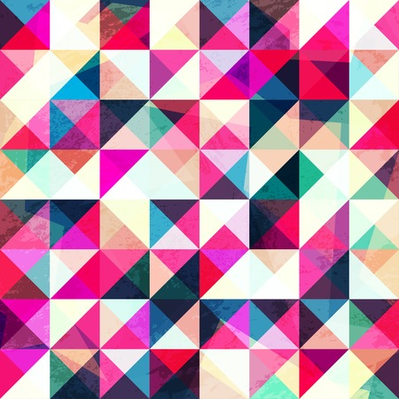 side effect: pink triangle seamless pattern