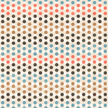 point seamless pattern Vector