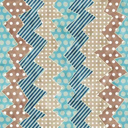 picnic blanket: retro cloth seamless pattern