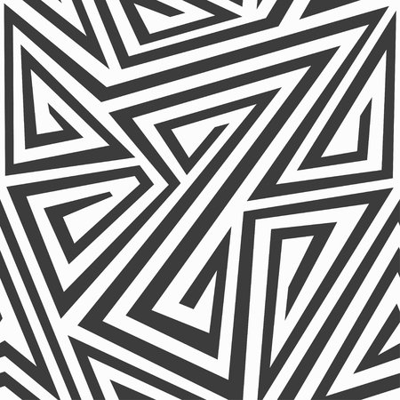 monochrome tribal seamless texture Vector