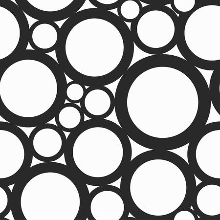 convexity: monochrome hole seamless pattern