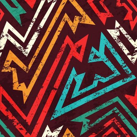 ancient grunge seamless pattern