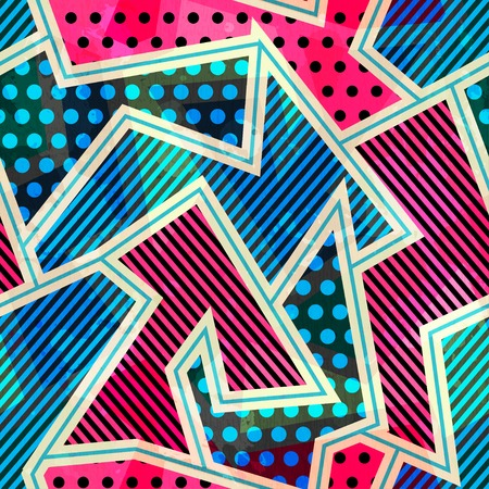 bright cloth seamless pattern Vector