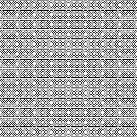 modular rhythm: monochrome vintage seamless texture