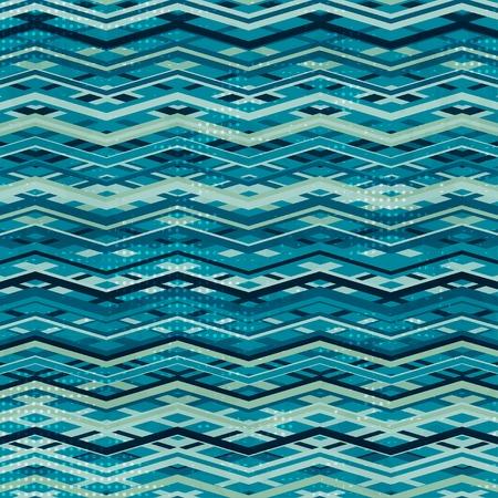 lineas rectas: ondear sin fisuras patrón de zigzag