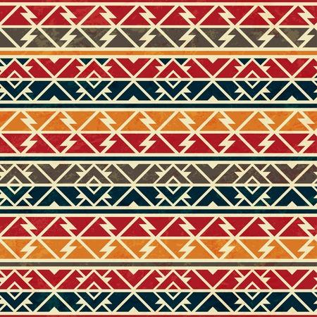 african seamless pattern Ilustração