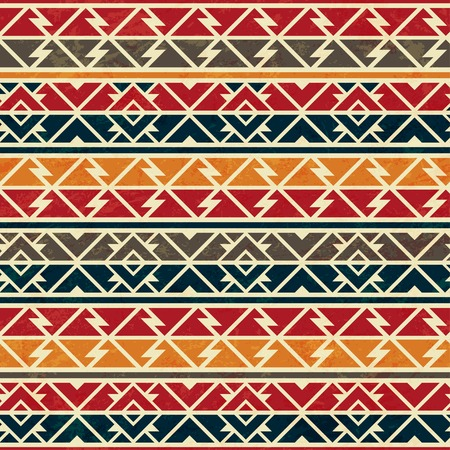 african seamless pattern Illustration