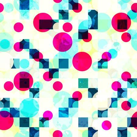 bright: bright geometric seamless pattern