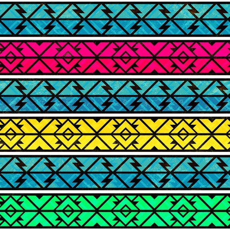 african culture: bright ancient seamless pattern