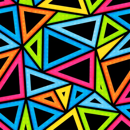 bright triangle seamless pattern
