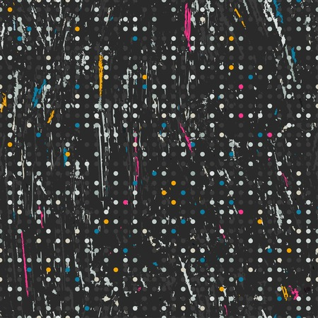 repeatable: colored grunge seamless pattern
