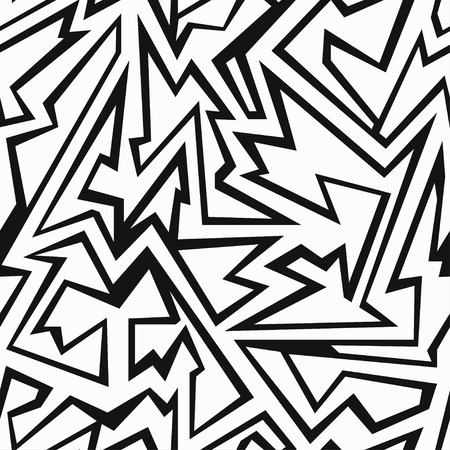 debris: monochrome debris seamless pattern