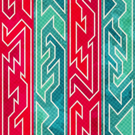 retro red seamless pattern Vector