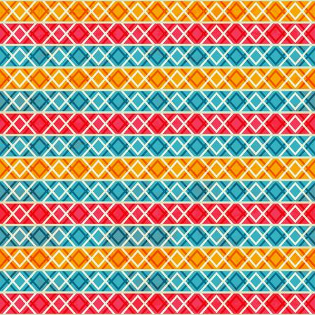 rayures vintage: bandes vintage seamless pattern Illustration