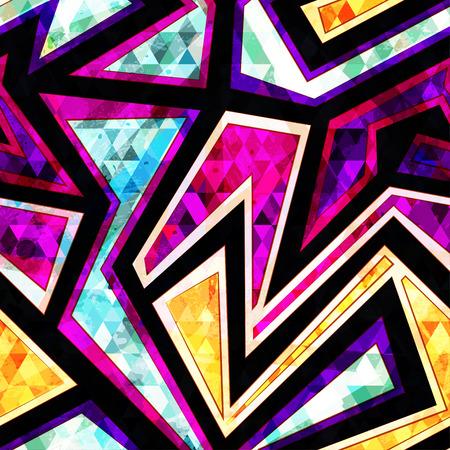 diamond geometric seamless pattern