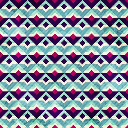 grunge mosaic seamless pattern Vector