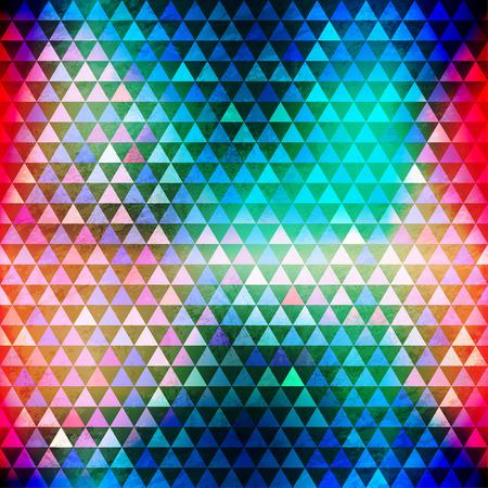 流行に敏感な三角形のシームレス パターン
