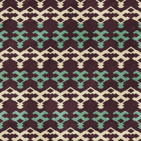 knit seamless pattern with grunge effect
