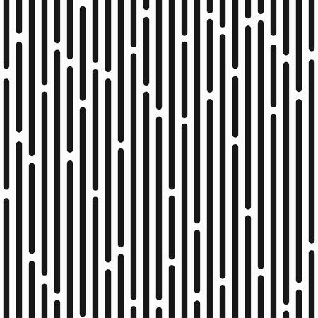 monochrome stripes seamless pattern Illustration