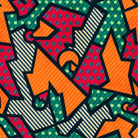 wattle: tissue vintage seamless pattern