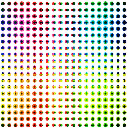 points: points seamless pattern Illustration