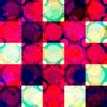 red diamond: red diamond seamless pattern grunge effect