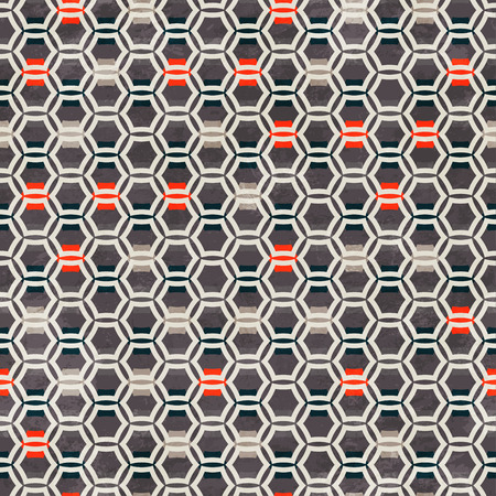 grid pattern: urban grid seamless pattern Illustration