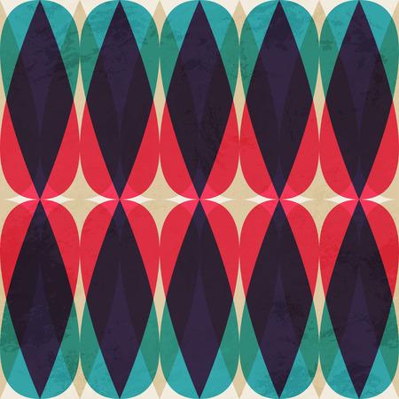 vintage mosaic seamless pattern 일러스트