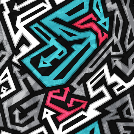 urban colors: patrón transparente urbano con efecto grunge