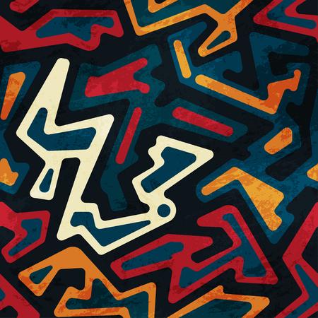 african seamless pattern 일러스트