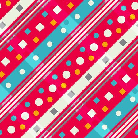 diagonal: Diagonal geometric. Seamless pattern Illustration