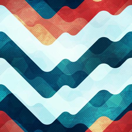 lineas horizontales: Modelo inconsútil de agua con efecto grunge