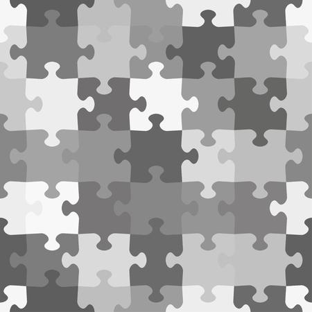 monochrome: monochrome puzzle seamless pattern