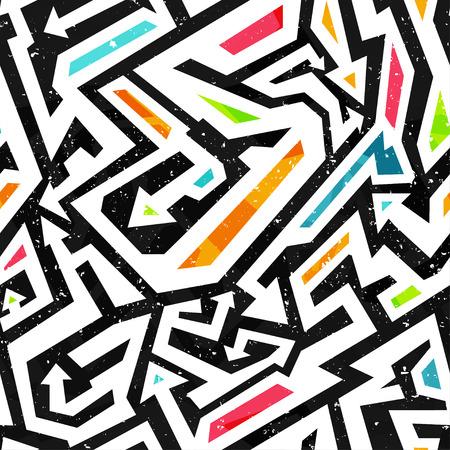 Graffiti: graffiti seamless pattern