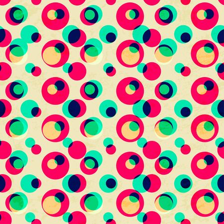 bright: bright circle seamless pattern