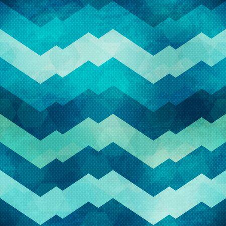 Abstract geometric seamless pattern Ilustração