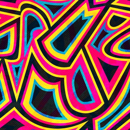 grafitis: grafitis patr�n transparente geom�trica