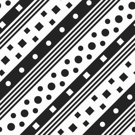 fabric texture: Monochrome diagonal geometric. Seamless pattern.